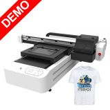 6090 Double Trays T-shirts Printer with Epson XP600 Printheads