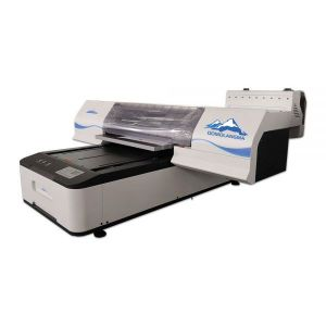 60*90 Digital Flatbed UV Printer with 2 Epson TX800 Printheads